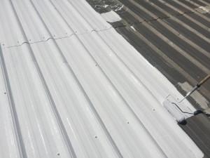 applying roof coatings