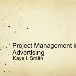 Project Management in Advertising-A Visual