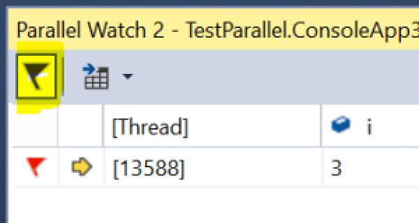 Filter flagged threads