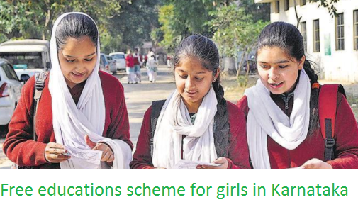 Free educations scheme for girls in Karnataka