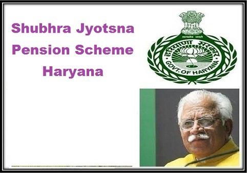 Shubhra Jyotsna Pension scheme Haryana