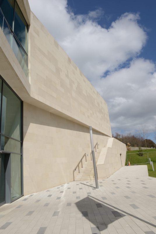 Pontio Building External Elevation 3