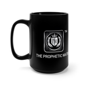 PM Black Mug 15oz