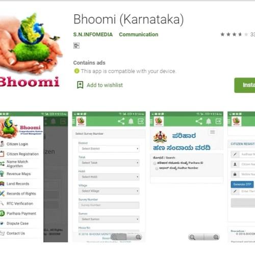 Bhoomi Karnataka App