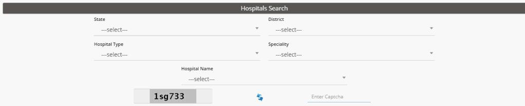 Find Hospital list