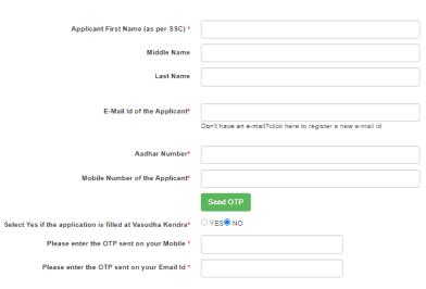 ragistration form