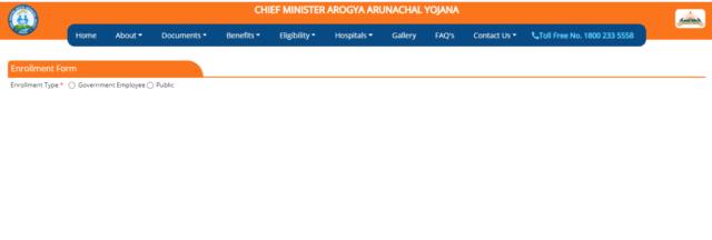 Arogya Arunachal Yojana Application