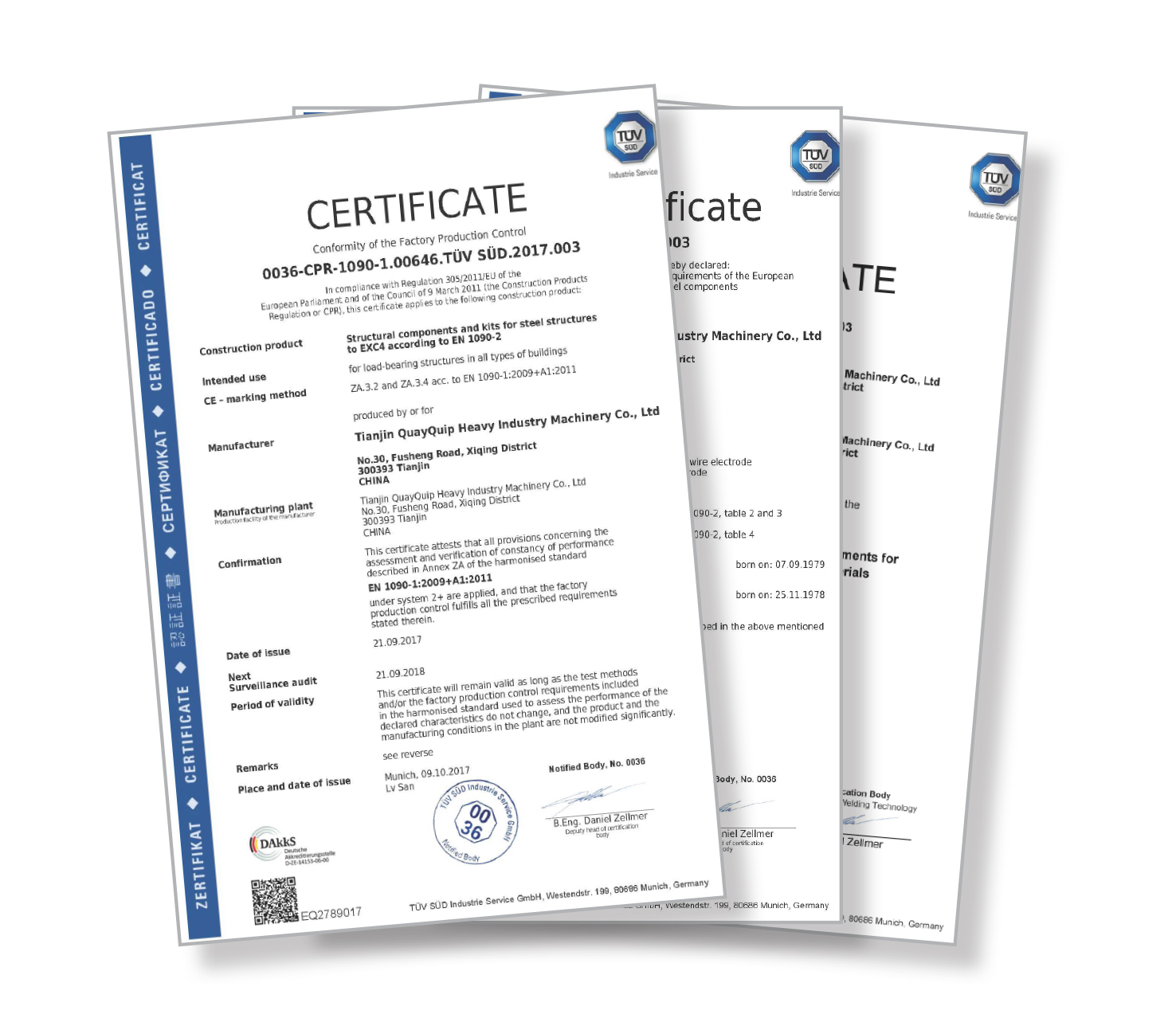 Quayquip Is Now En 2 Exc4 And Iso 2 Certified
