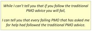 Traditional PMO