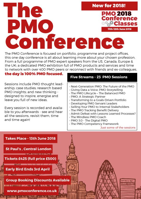 PMO Conference 2018