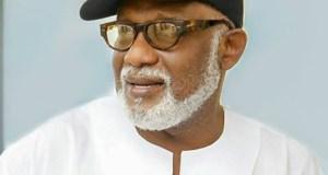 Governor Oluwarotimi Akeredolu...