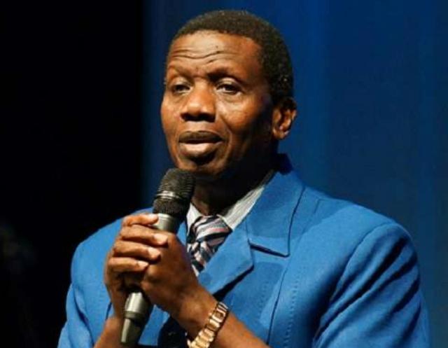 .Pastor E. Adejare Adeboye of RCCG...