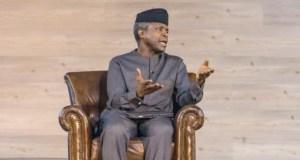 Professor Yemi Osinbajo...giving new meaning to leadership in Nigeria...