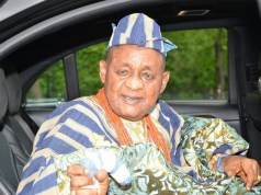 ...the Alaafin of Oyo, Oba Lamidi Adeyemi...happy birthday...