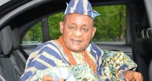 ...the Alaafin of Oyo, Oba Lamidi Adeyemi...happy birthday...
