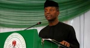 ...Acting President Yemi Osinbajo, SAN...