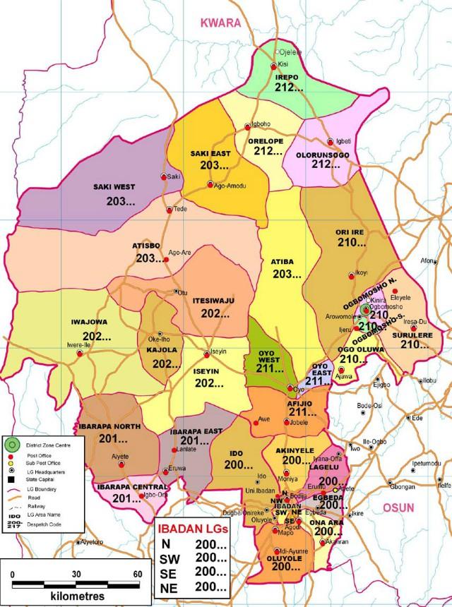 Oyo State of Nigeria