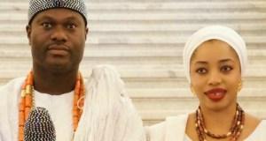 The Ooni, Oba Adeyeye Ogunwusi, with his 'ex', Olori Wuraola now Zaynab Otiti Obanor...
