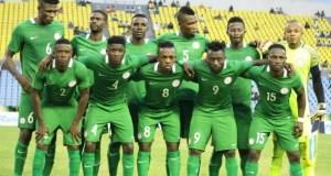 Nigeria's Super Eagles...