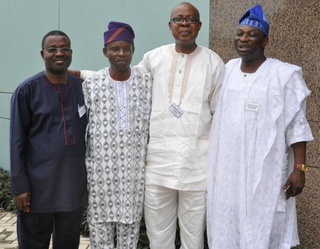 ...Yombo Olasupo, Orowale, Yomi Laniyan and Sikiru Odediran...