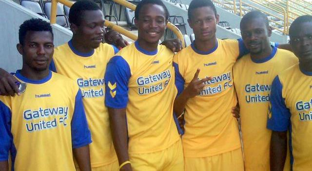 Gateway Football Club players