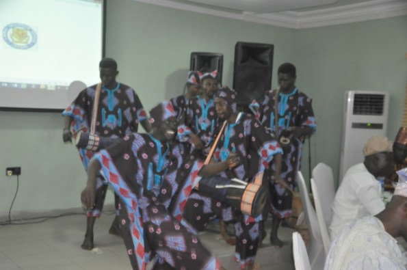 Cultural drama group were also present to thrill LAGSOBA 82 members