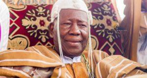 Oba Saliu Adetunji, the Olubadan of Ibadanland...
