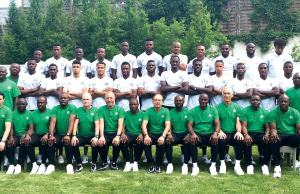 Nigeria's Super Eagles' Russia 2018 World Cup squad, including coaches and other backroom staff…