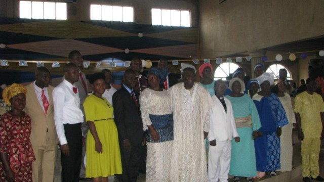 Prophet Richard Adebayo Kolawole, with others during the event...