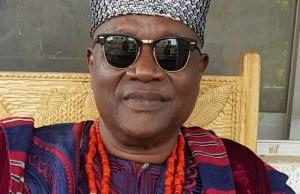 The Orangun of Oke-Ila, Oba (Barrister) Adedokun Abolarin