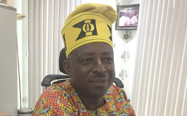 Engineer Wole Agbaje...still celebrating Idea Konsult's 25th Anniversary...