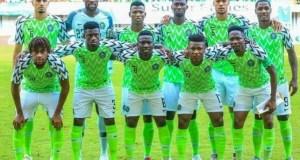Nigeria's Super Eagles...before a flight...