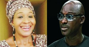 ...the two 'loverbirds'...Kemi Olunloyo and Chris Nwandu of CKN News...made in Heaven?