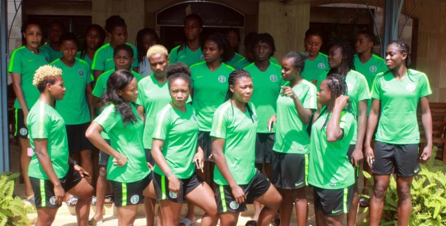 Super Falcons...getting ready to take over Africa again...