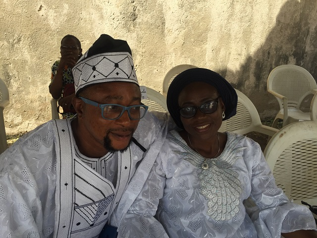 ...Baba Sala's children...Deji and his sister...