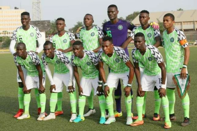 Nigeria's Flying Eagles...
