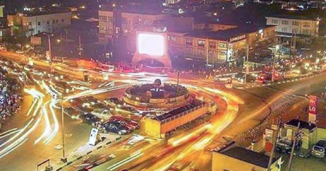 ...Challenge Area of Ibadan in the evening...(pulse.com photo)