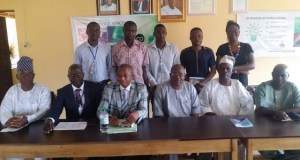 Ajayi Polytechnic management staff members and their visitors...