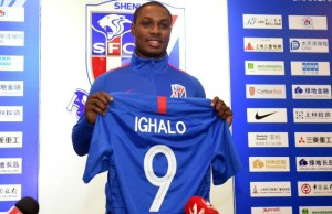 Odion Ighalo...in his new colours...