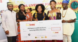 A cross section of the graduating Regional LiveWIRE Nigeria beneficiaries
