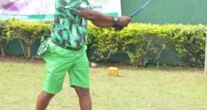 Col. Ade Sunmonu...the new Captain of Ibadan Golf Club...