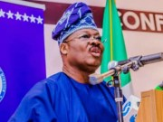 Senator Abiola Ajimobi...the governor of Oyo State...