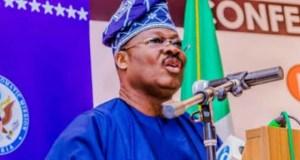 Senator Abiola Ajimobi...the governor of Oyo State...