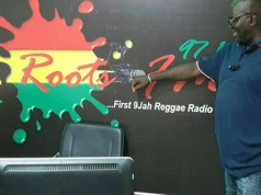 Kunle Onime...proudly explains away what Root FM has as focus...