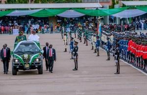 ...President Muhammadu Buhari...during the event...