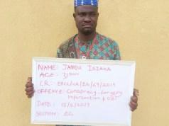 ...the Islamic scholar/herbalist, Jamiu Isiaka...