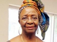Late Prof Molara Ogundipe...mourned...