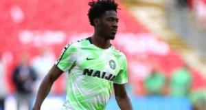 Ola Aina...on duty for Nigeria...(goalball.com.ng image)