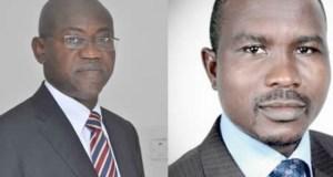 …the new Ogun SSG, Mr. Olatokunbo Talabi and The new Chief of Staff, Alhaji Shuaib Salisu…