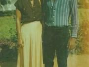 Betty Anyanwu and Oluwarotimi Akeredolu...courtship days...1980...